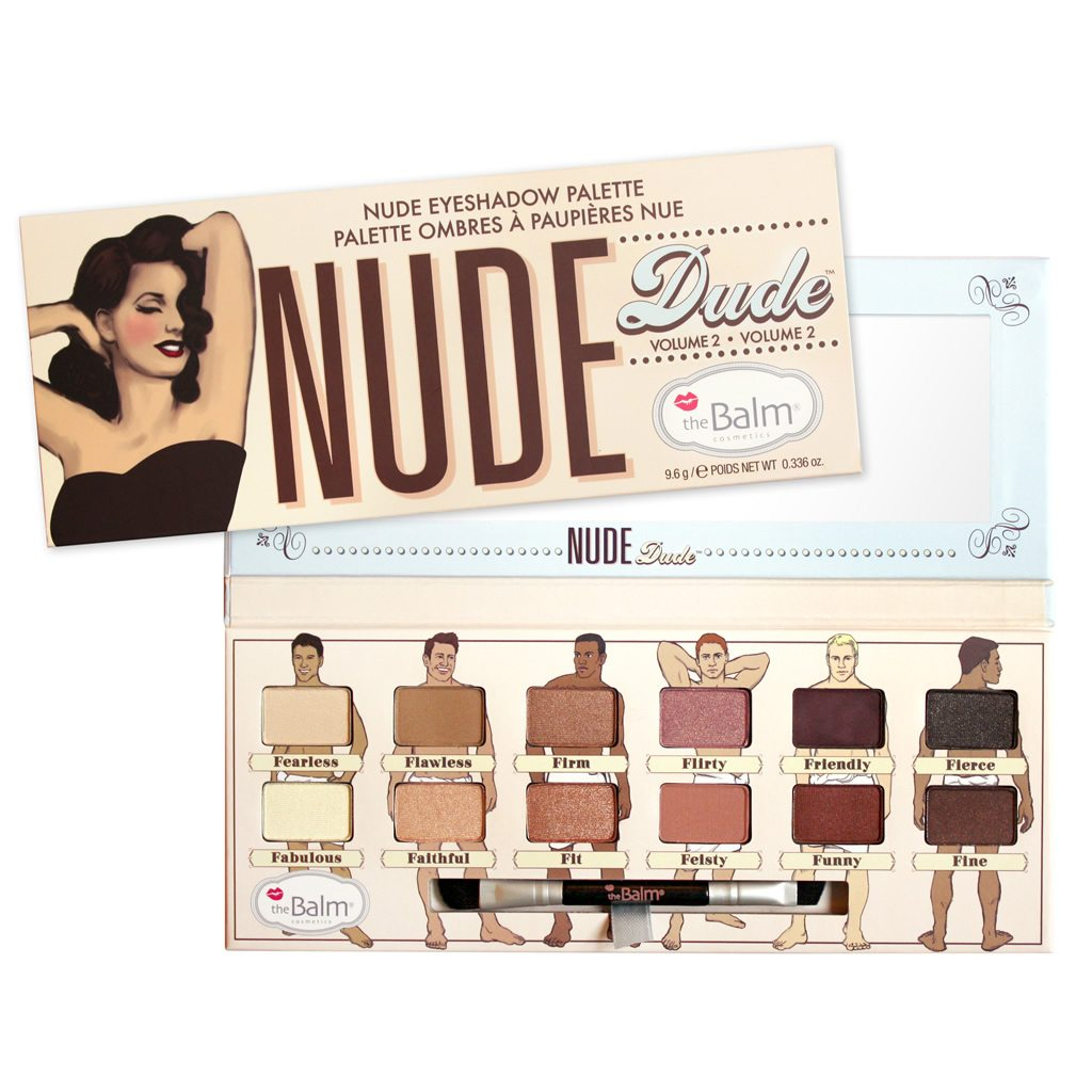 The Balm Nude Dude make up paleta sjenila