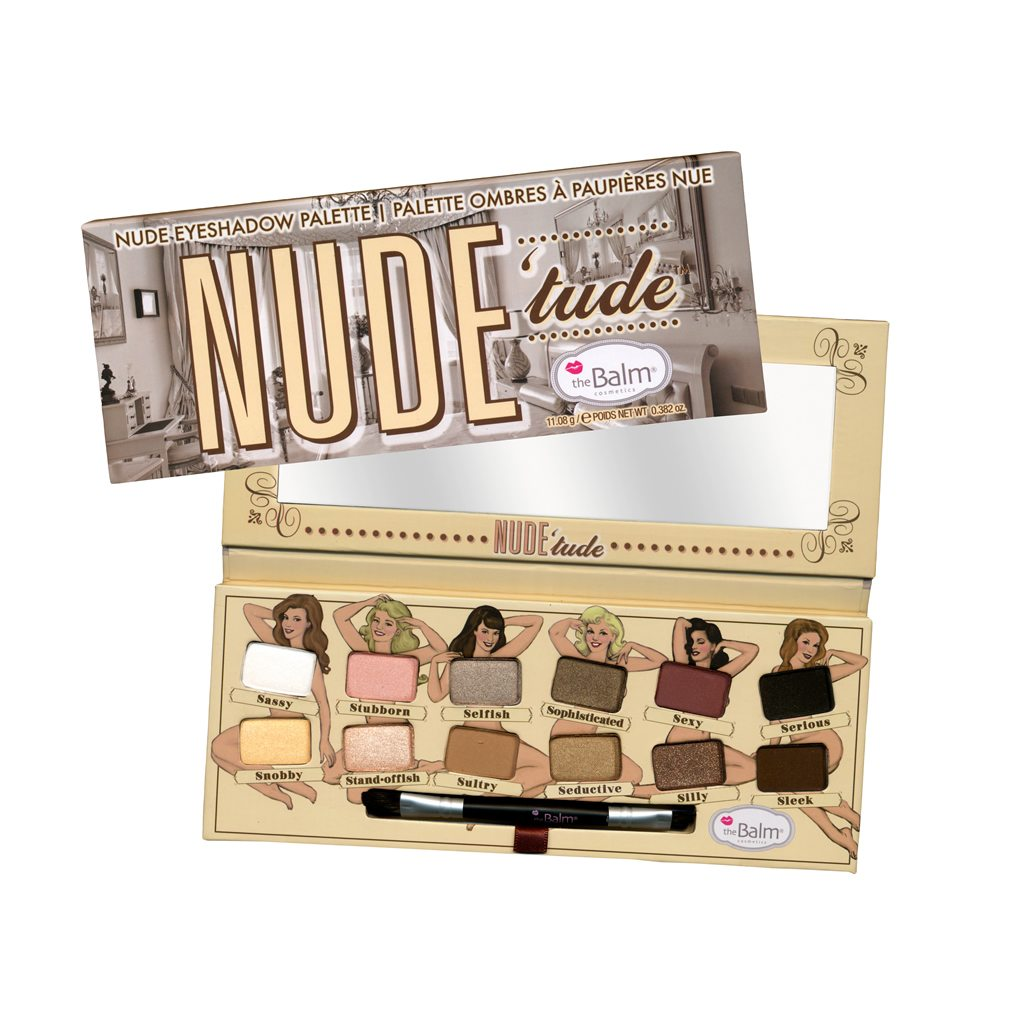 The Balm Nude Tude Naughty Palette make up paleta
