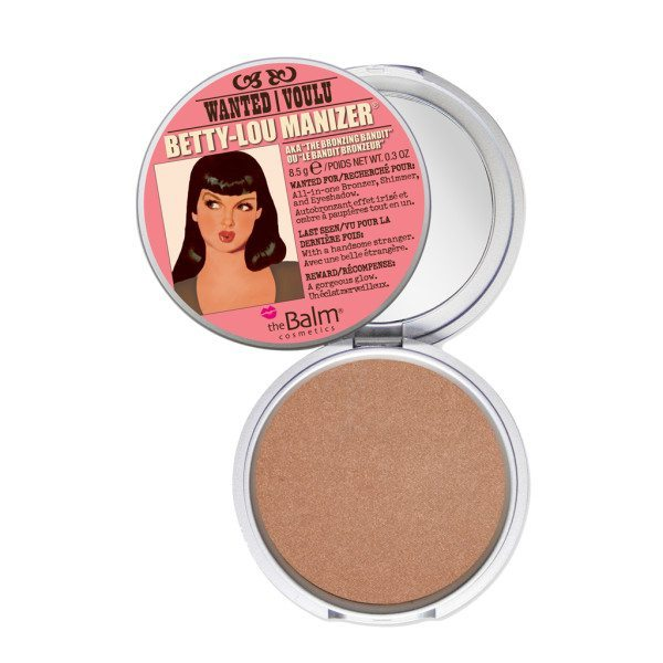 The Balm Betty Lou Manizer all over
