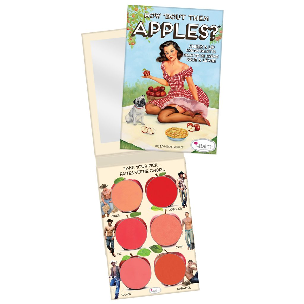The Balm paleta How Bout Them Apples