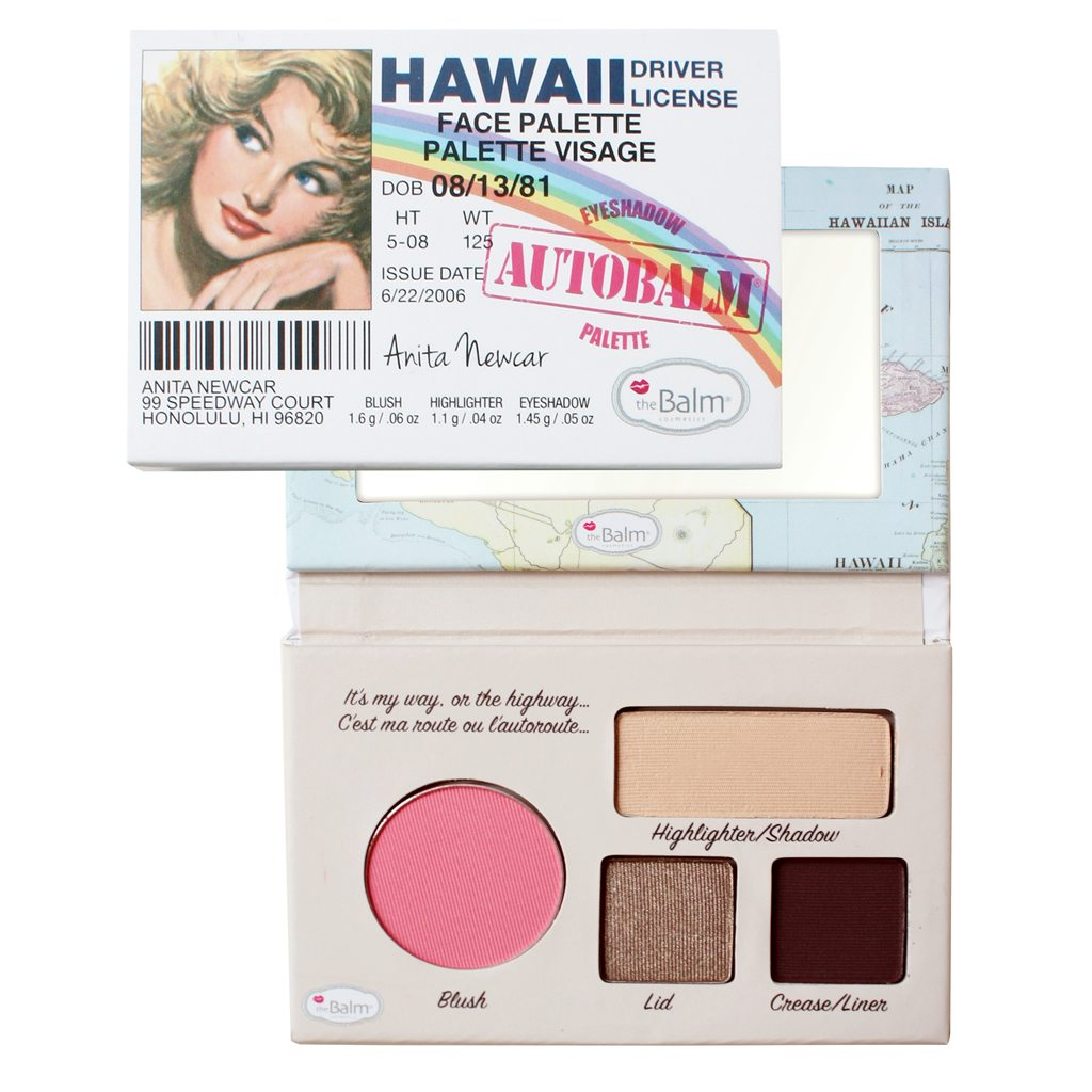 The Balm Autobalm HAWAII make up paleta