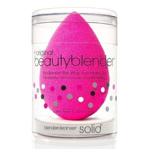 BeautyBlender Original pink i BlenderCleanser Solid