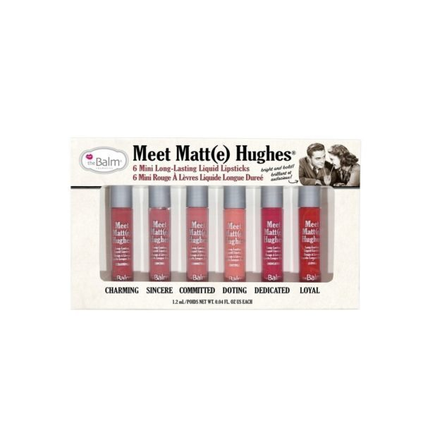The Balm Meet Matte Hughes set od šest ruževa