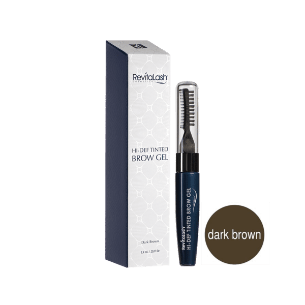 RevitaLash Hi-Def gel za obrve dark brown