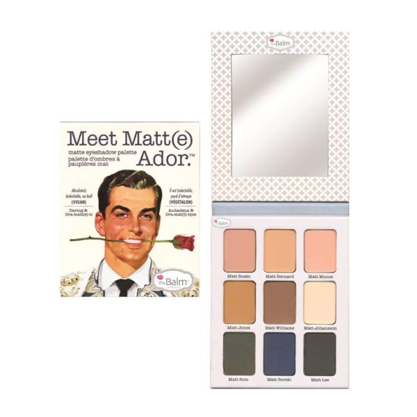 The Balm Meet Matte Adore paleta
