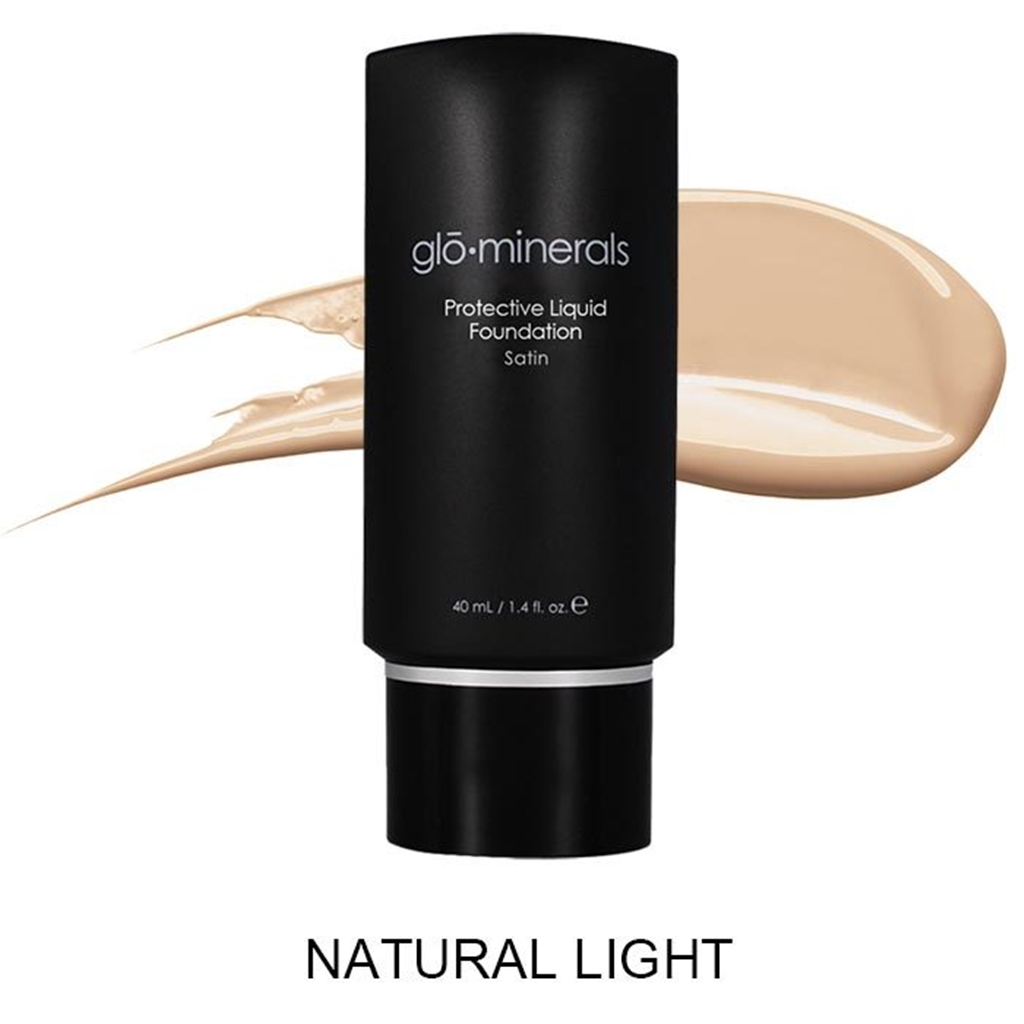 Glo Minerals tekući puder Satin Natural Light