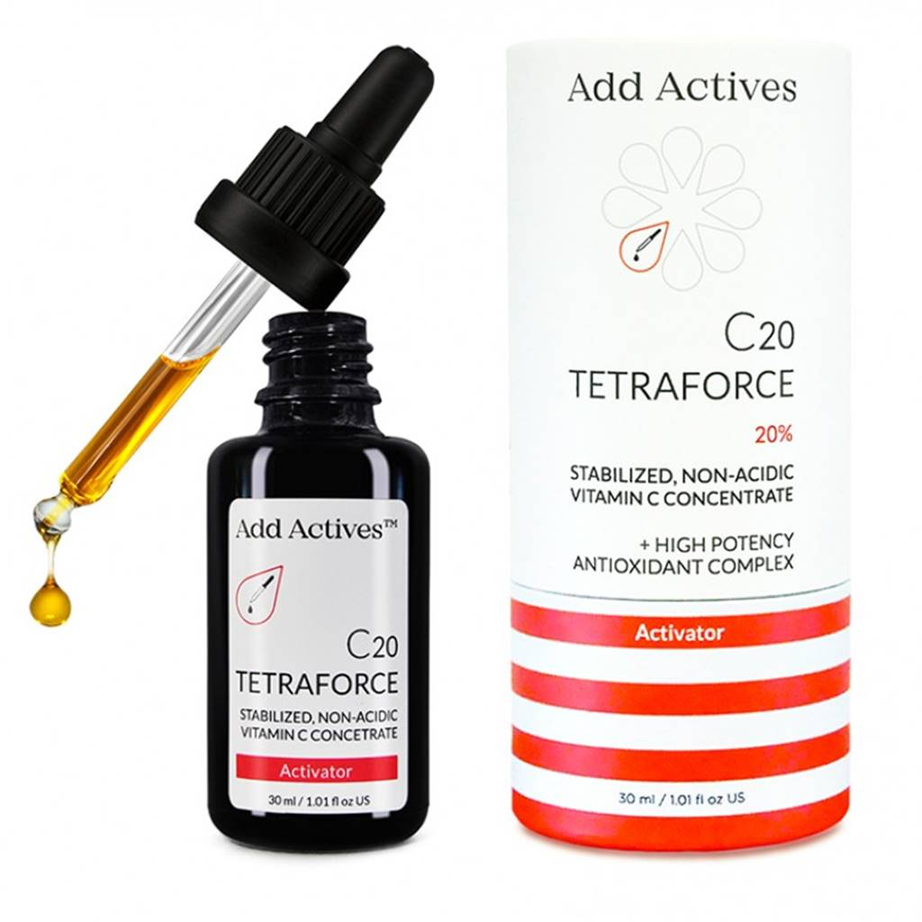 Add Actives C20 TETRAFORCE ACTIVATOR vitamin C serum