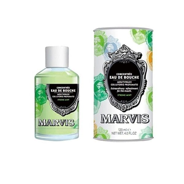 Marvis Strong Mint vodica za ispiranje usta 120 ml