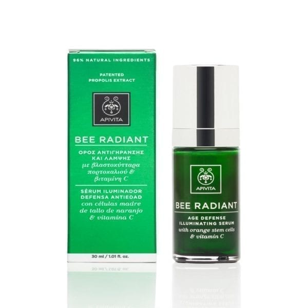 APIVITA Bee Radiant iluminirajući anti-age serum 30ml