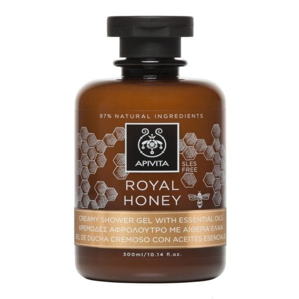 APIVITA Royal honey kremasti gel za tuširanje