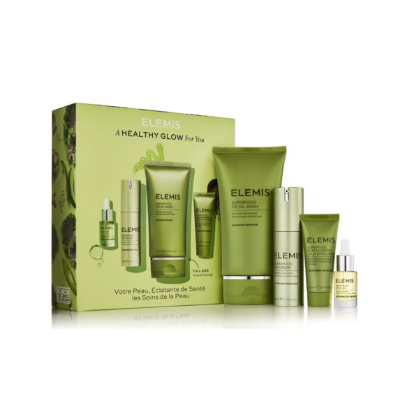 Elemis Superfood set u četiri koraka
